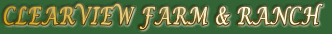 Clearview Farm and Ranch Banner
